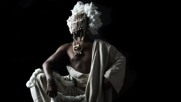 What role will black artists play in Detroit's redevelopment? Performance artist Monstah Black to appear at  Afrotopia's SigiFest this weekend, July 24-25