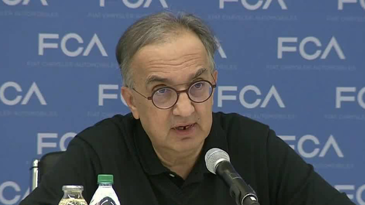 Former Fiat Chrysler Ceo Sergio Marchionne Passed Away