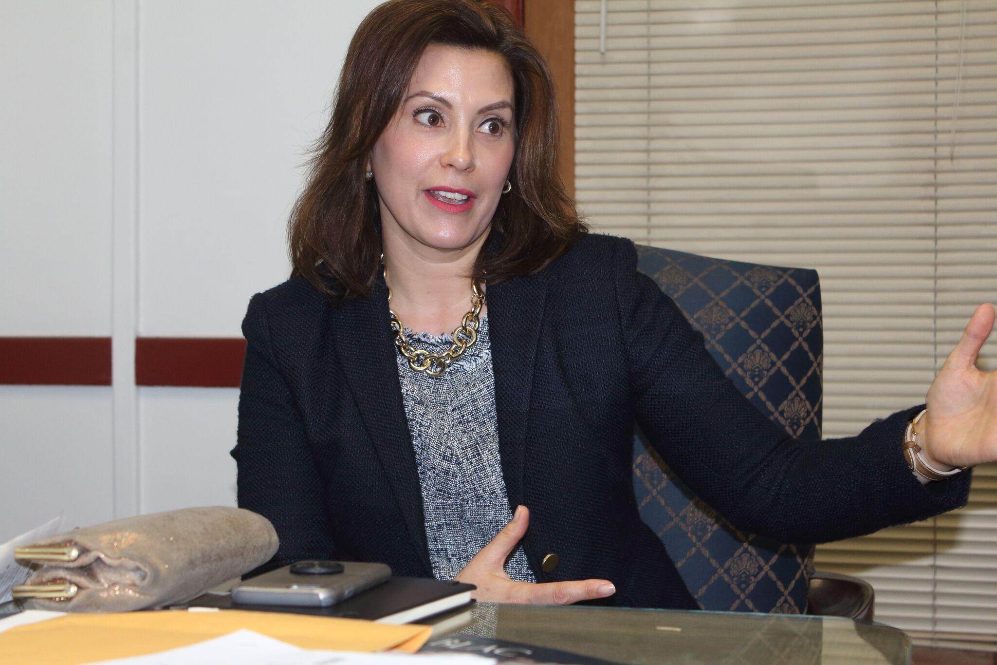 Gov. Gretchen Whitmer Talks Roads, Budget Impasse at State