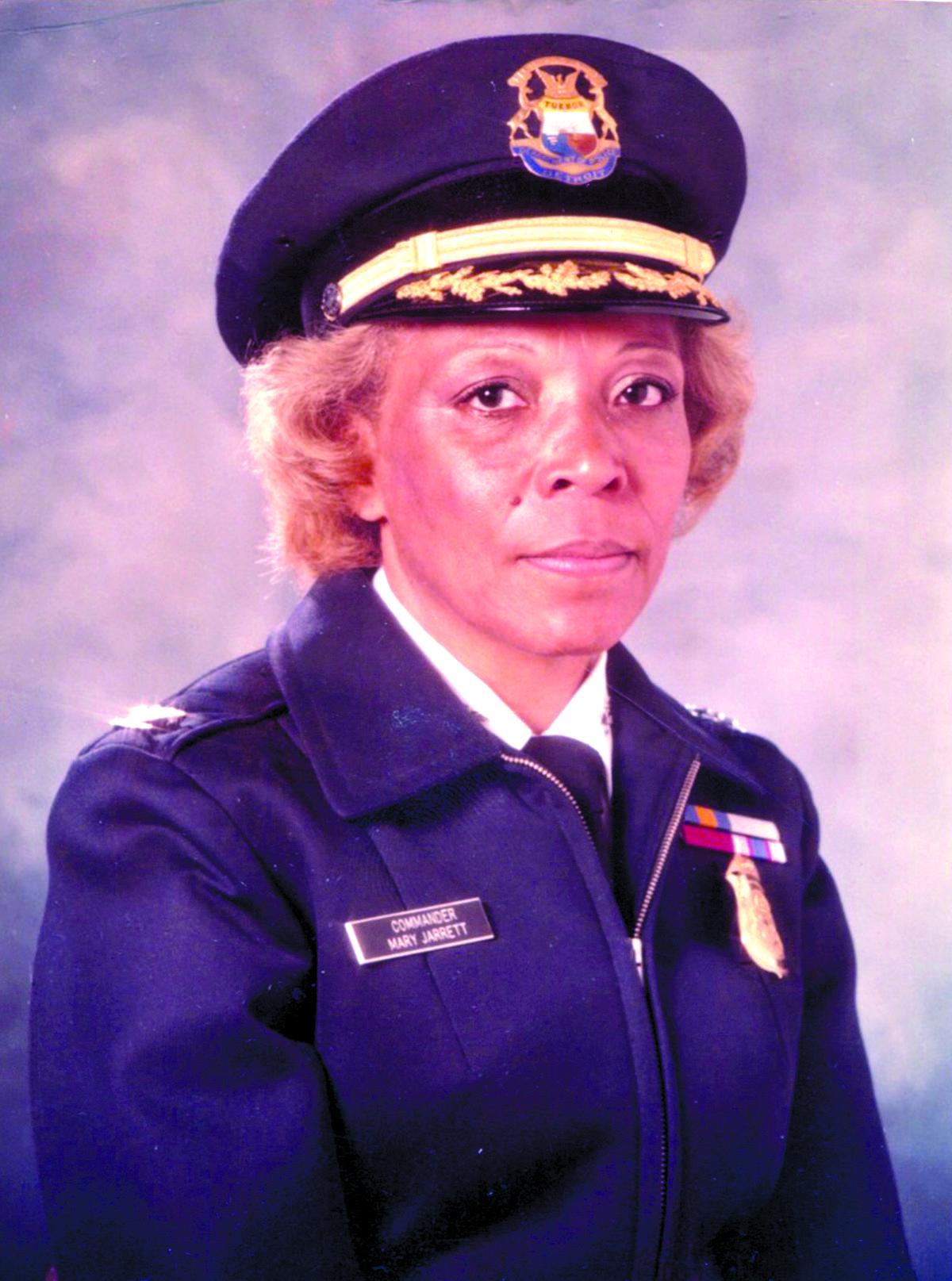 Retired DPD Deputy Chief Mary Jarrett Jackson