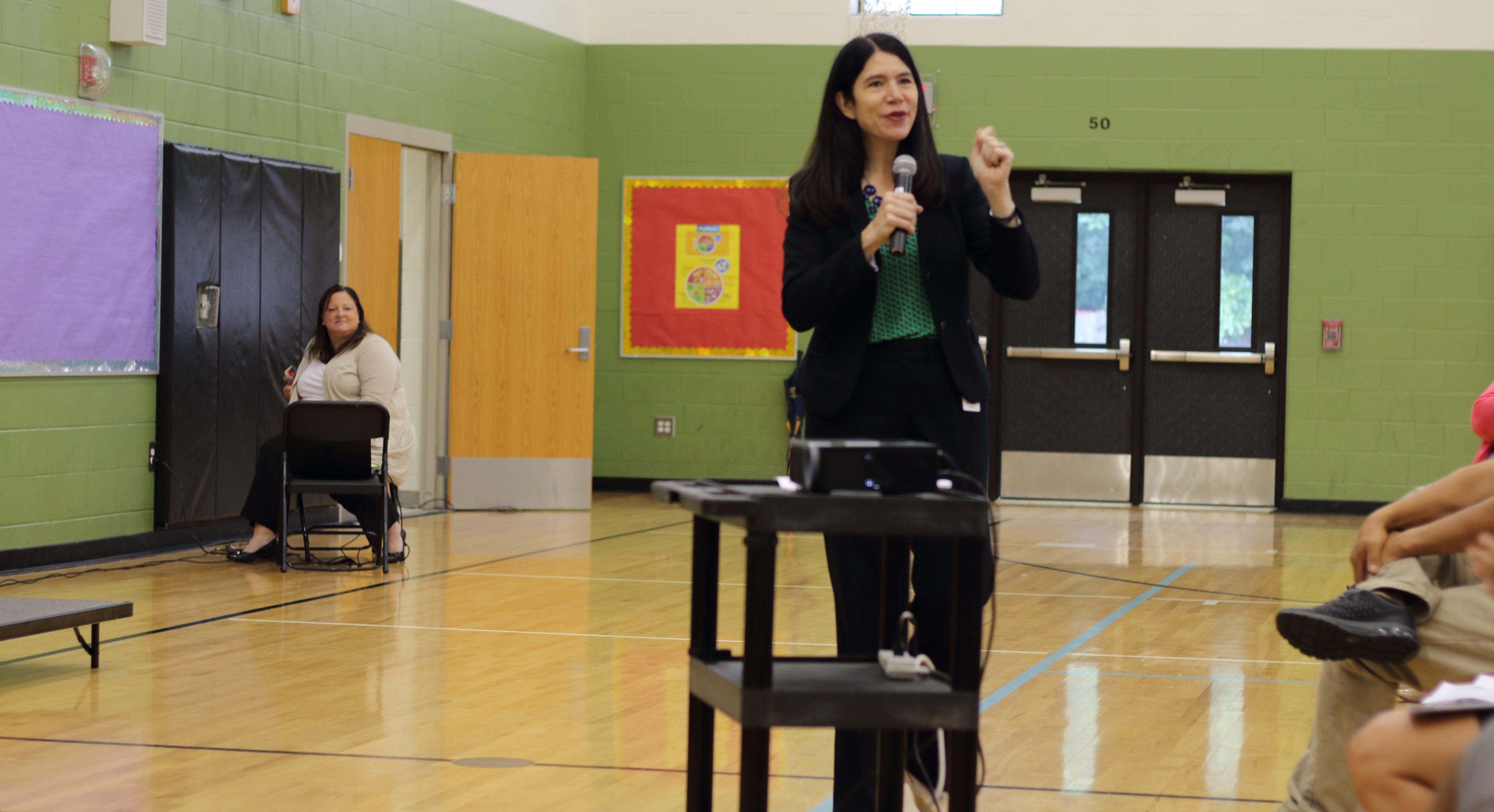 DPSCD Superintendent Alycia Meriweather PHOTO CREDIT: Alisha Dixon