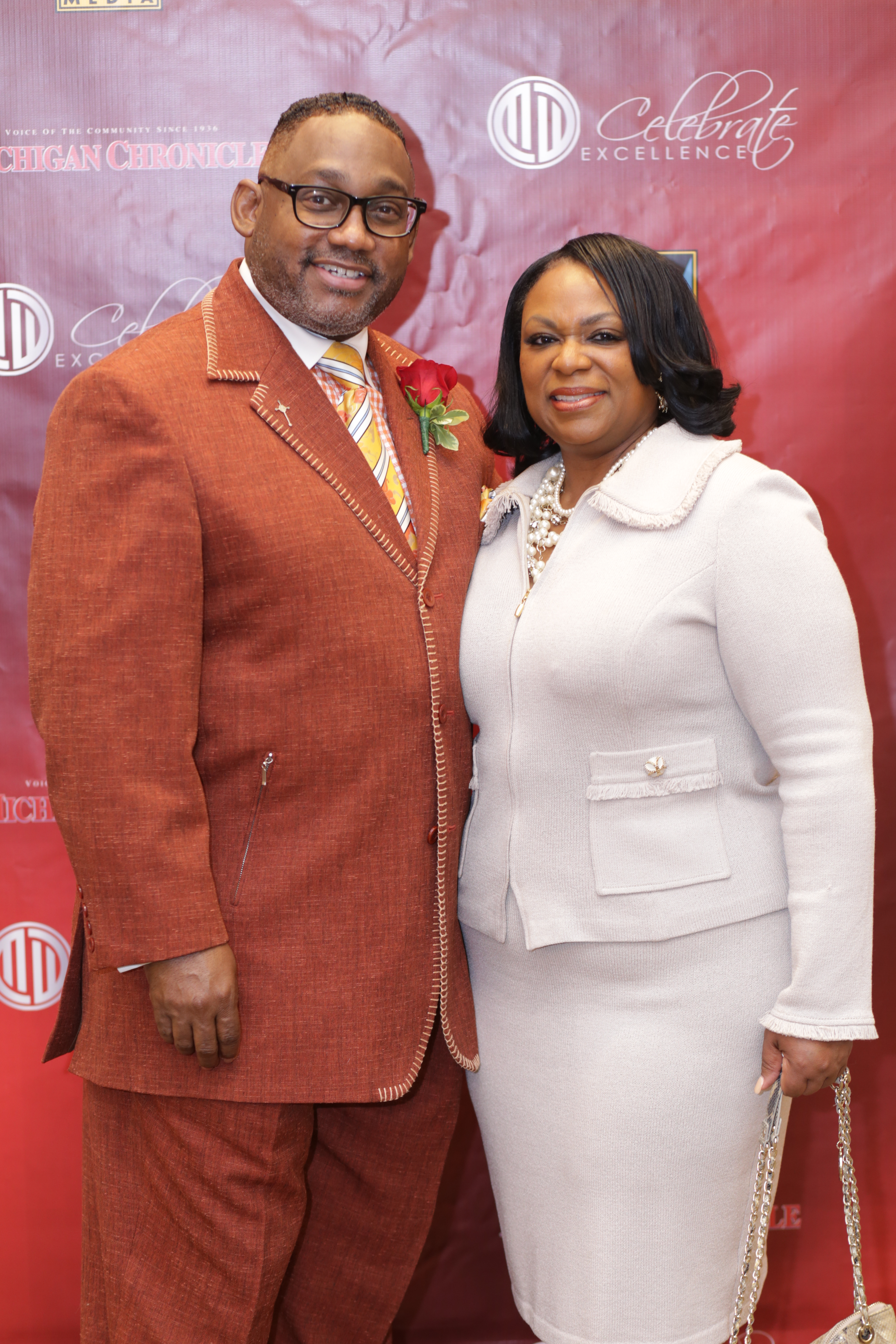 THE JAKES—Bishop T.D. Jakes and his wife, Serita Jakes, arrive on their way to the preacher's 35th Anniversary Celebration at the AT&T Winspear Opera House in Dallas. Jakes was also expected to attend a major Christian racial reconciliation conference.