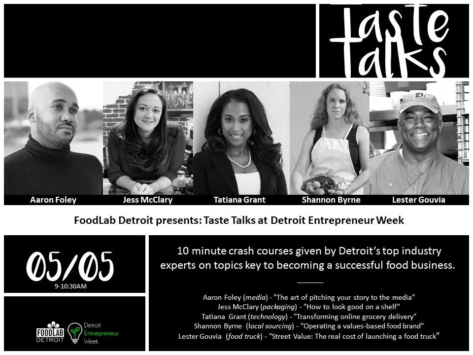 Detroit FoodLab Taste Talk