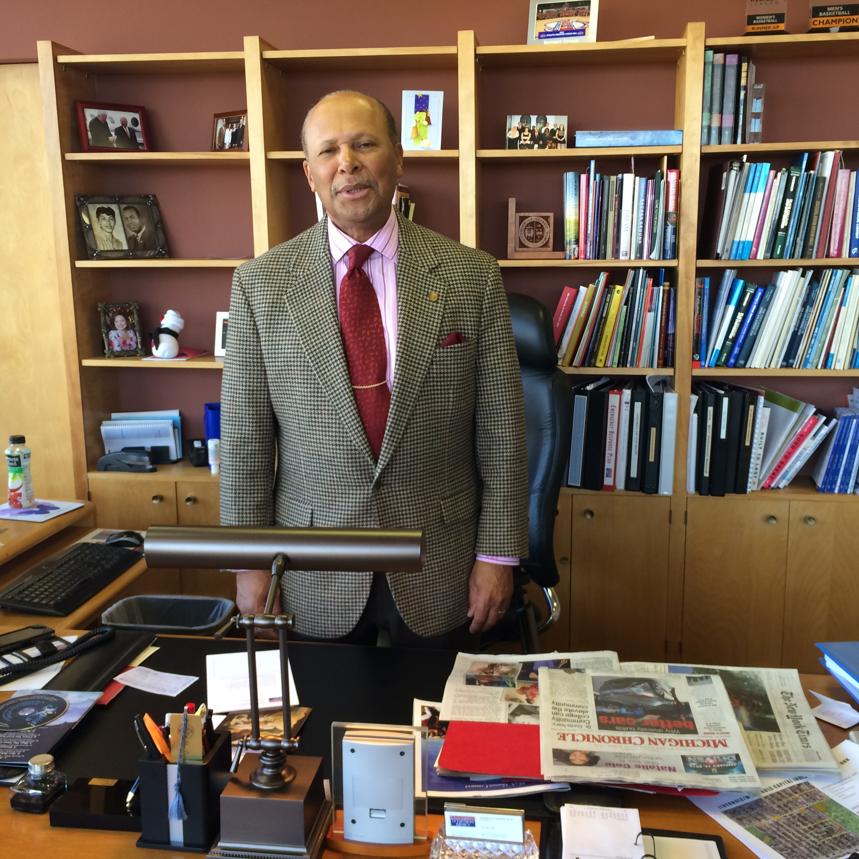 Dr. Antoine Garibaldi, President of UD Mercy Keith Owens photo