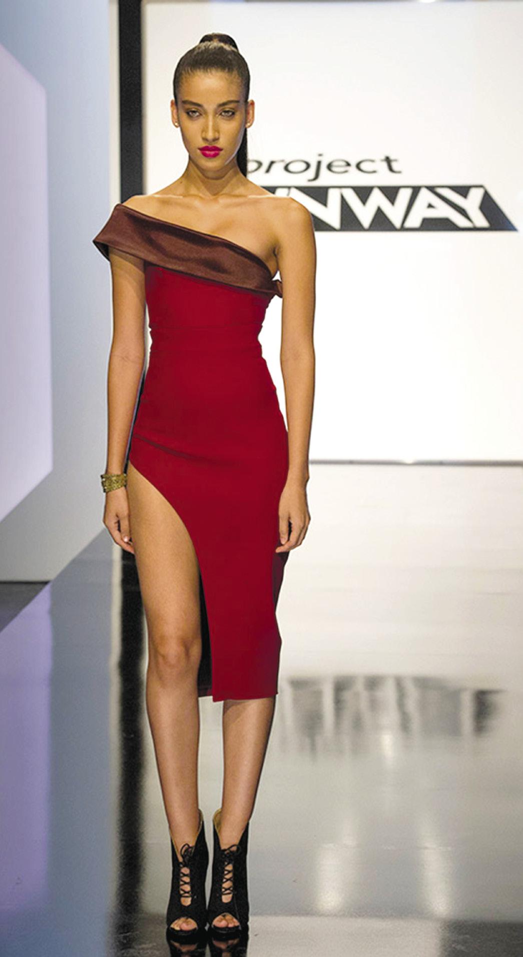 Project Runway Laurie Underwood dress