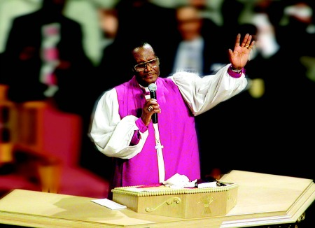 Bishop P A  Brooks: Michigan Chronicle 2013 Newsmaker