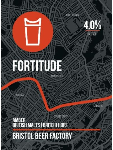Pumpclip image for Bristol Beer Factory Fortitude