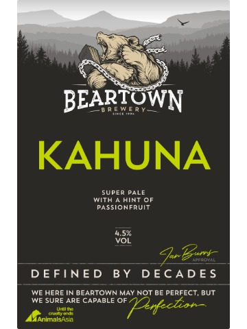 Pumpclip image for Beartown Kahuna