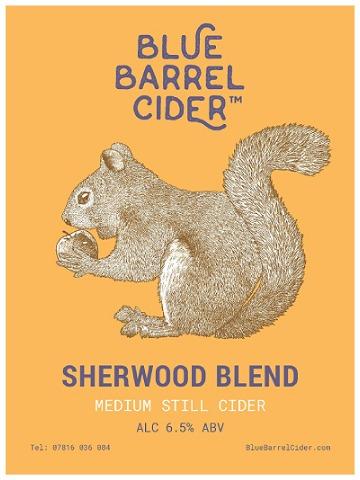 Pumpclip image for Blue Barrel Sherwood Blend