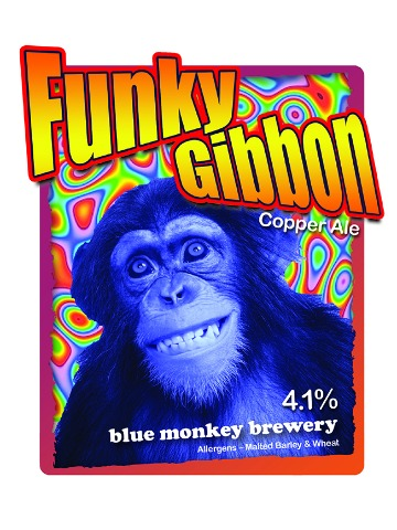 Pumpclip image for Blue Monkey Funky Gibbon
