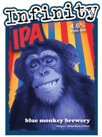 Pumpclip image for Blue Monkey Infinity IPA
