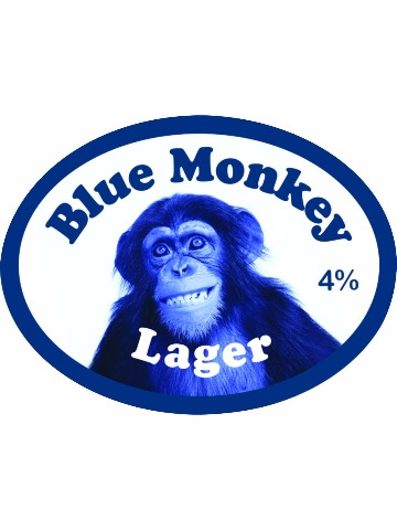 Pumpclip image for Blue Monkey Lager