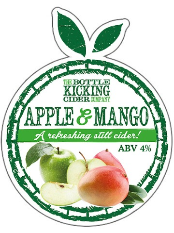 Pumpclip image for Bottle Kicking Apple & Mango