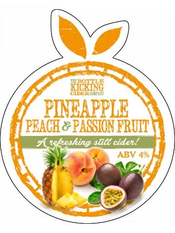 Pumpclip image for Bottle Kicking Pineapple, Peach & Passion Fruit