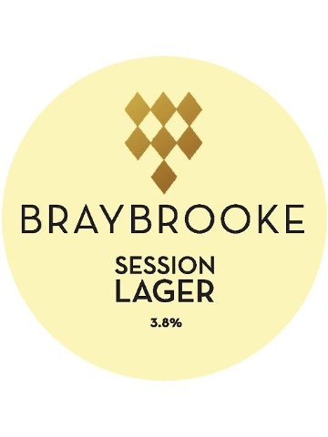 Pumpclip image for Braybrooke Session Lager