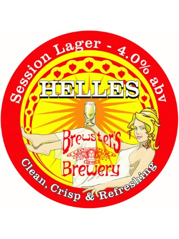 Pumpclip image for Brewsters Helles