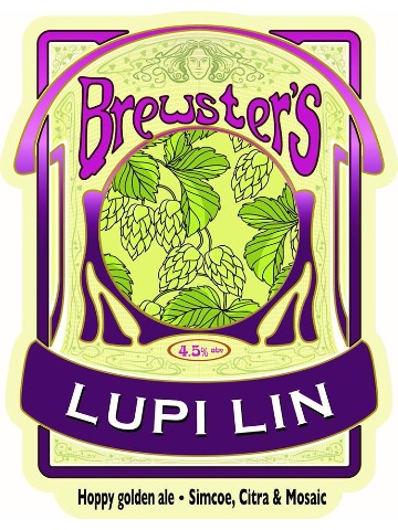 Pumpclip image for Brewsters Lupi Lin