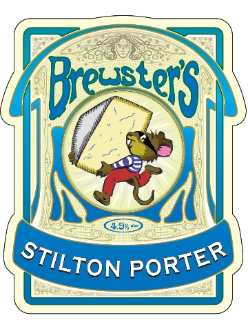 Pumpclip image for Brewsters Stilton Porter