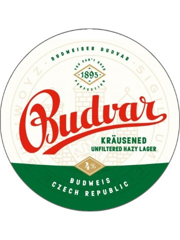 Pumpclip image for Budweiser Budvar Krausened