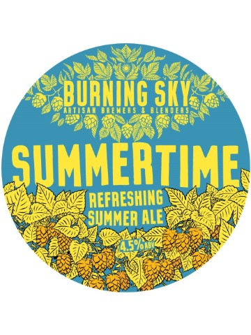 Pumpclip image for Burning Sky Summertime