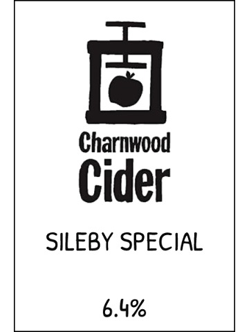 Pumpclip image for Charnwood Cider Sileby Special