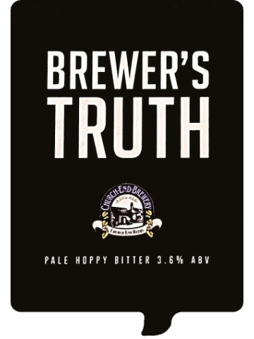 Pumpclip image for Church End Brewer's Truth