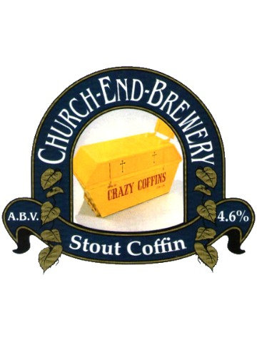 Pumpclip image for Church End Stout Coffin