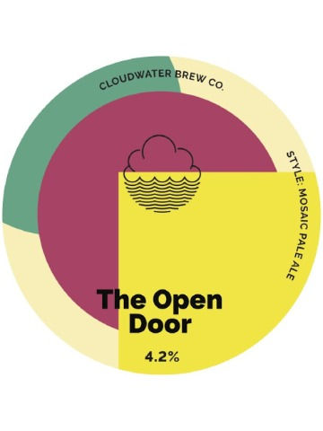 Pumpclip image for Cloudwater The Open Door