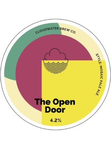 Pumpclip image for Cloudwater The Open Door
