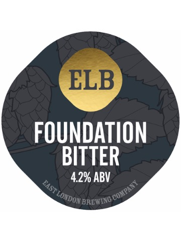 Pumpclip image for East London Foundation Bitter