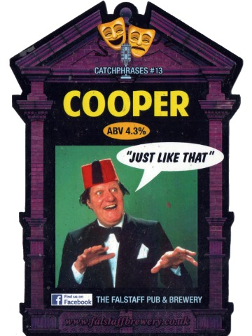 Pumpclip image for Falstaff Cooper