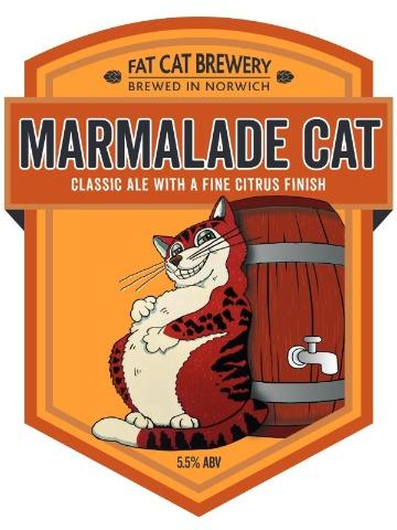 Pumpclip image for Fat Cat Marmalade Cat