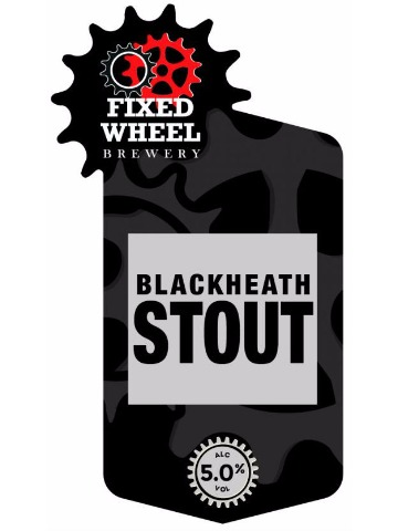 Pumpclip image for Fixed Wheel Blackheath Stout