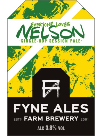 Pumpclip image for Fyne Everyone Loves Nelson