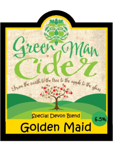 Pumpclip image for Green Man Golden Maid