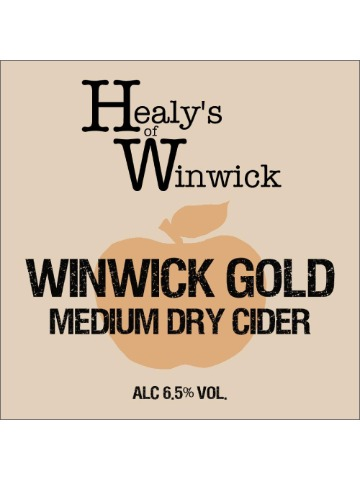 Pumpclip image for Healy's of Winwick Winwick Gold