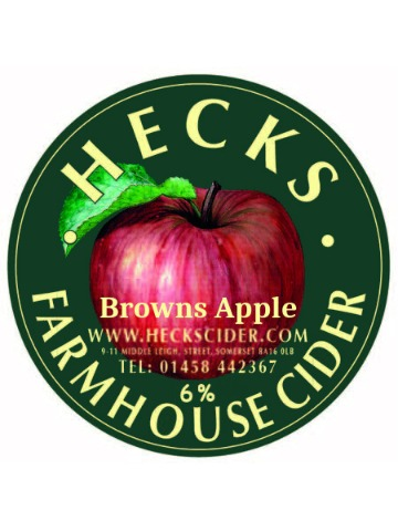 Pumpclip image for Hecks Browns Apple