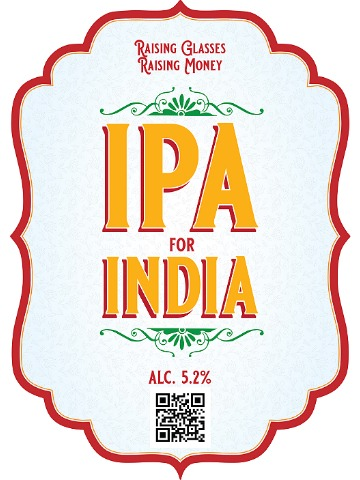 Pumpclip image for Charity Special IPA For India