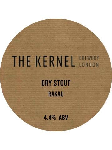 Pumpclip image for Kernel Dry Stout - Rakau