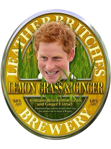 Pumpclip image for Leatherbritches Lemon Grass & Ginger