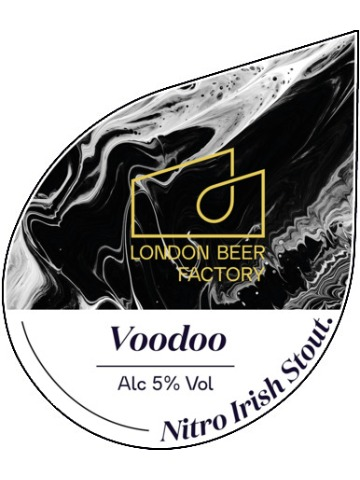 Pumpclip image for London Beer Factory Voodoo