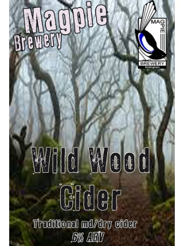 Pumpclip image for Magpie Wild Wood Cider
