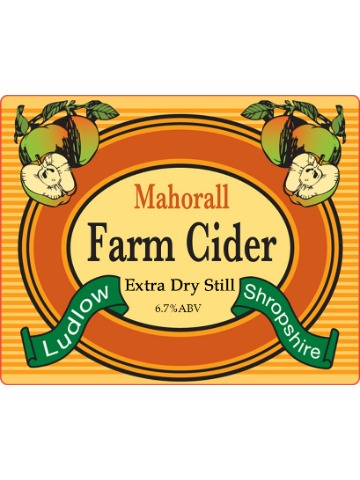 Pumpclip image for Mahorall Farm Extra Dry Still