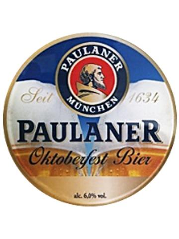 Pumpclip image for Paulaner Oktoberfest Bier