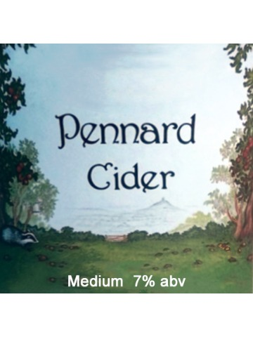 Pumpclip image for Pennard Organic Cider