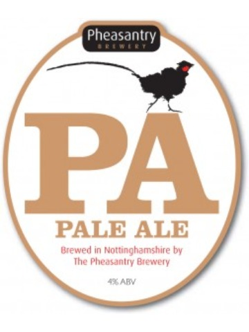 Pumpclip image for Pheasantry Pale Ale