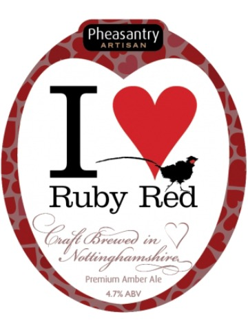 Pumpclip image for Pheasantry Ruby Red