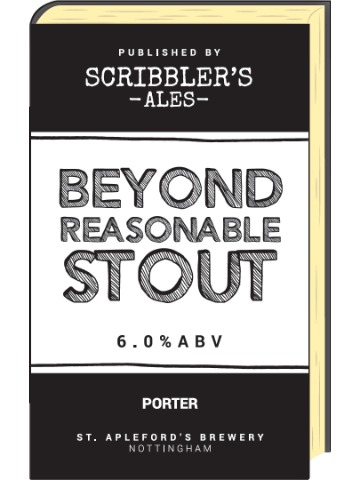 Pumpclip image for Scribblers Beyond Reasonable Stout