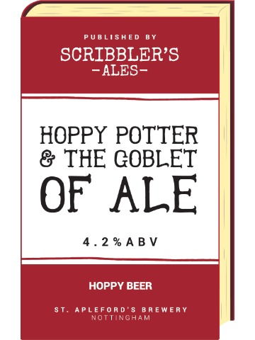 Pumpclip image for Scribblers Hoppy Potter & The Goblet of Ale