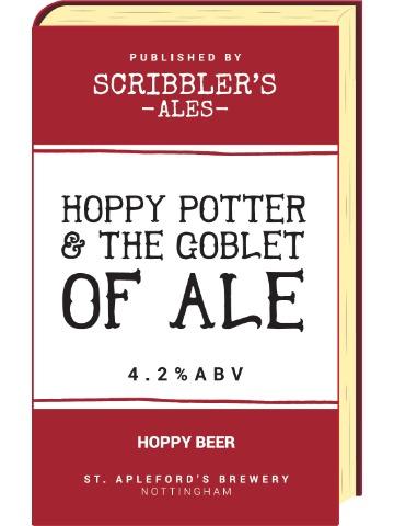 Pumpclip image for Scribblers Hoppy Potter & The Goblet of Ale